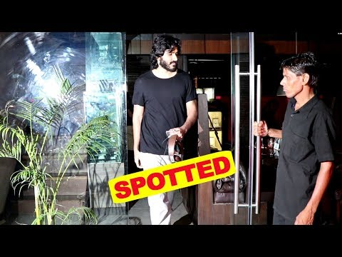 Harshvardhan Kapoor Spotted At Silver Beach Cafe , Juhu
