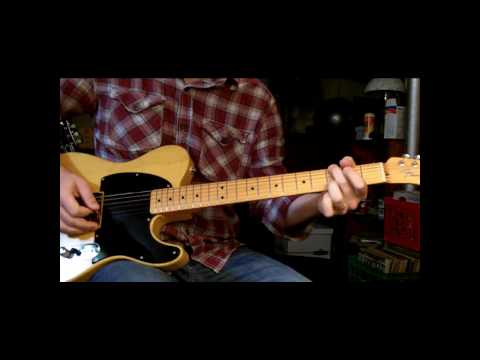 roknfnrol - Jamming with my friend's Fender Esquire with a Duncan Little '59 tele pickup. This pickup has an aggressive midrange crunch, great for rock. The amp is a Rei...