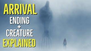 Arrival  2016  Ending   Creature Explained