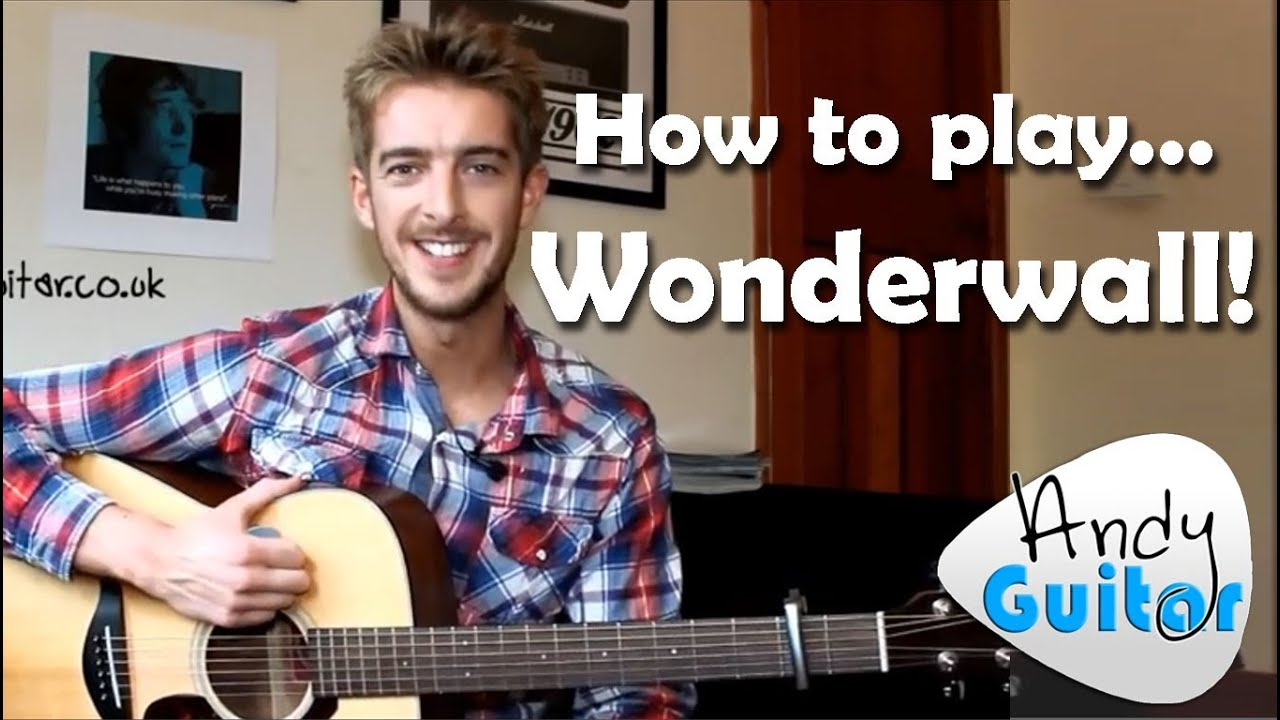 Wonderwall | Oasis (How to play) Easy Beginner Guitar Songs