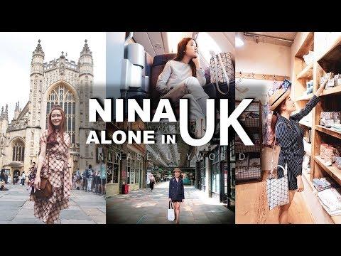 TRAVEL || Alone in UK เที่ยวคนเดียวประเทศอังกฤษ || NinaBeautyWorld