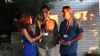 Ischia Film Festival 2015 - Vinicio Stefanello e Francesco Mansutti