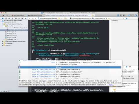 Learning IOS Development Part 69 Creating A…