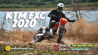 9. KTM EXC 2020 | First ride and Impressions 🔥 KTM 150 EXC TPI and KTM 350 EXC-F