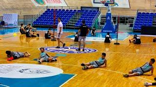 «Сарыарқа» велотрегінде «Астана» балалар баскетбол академиясының жаттығуы