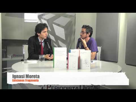 Ignasi Moreta parla de les novetats en castellà de Fragmenta