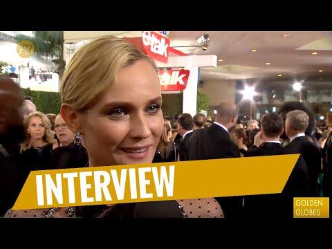 GOLDEN GLOBES 2018 | Red-Carpet-Interview mit Diane Kruger | FredCarpet