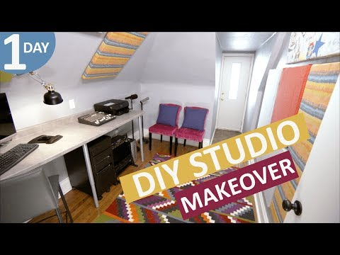 DIY Studio Makeover in a Day   Scott's House Call S2 (EP 6)