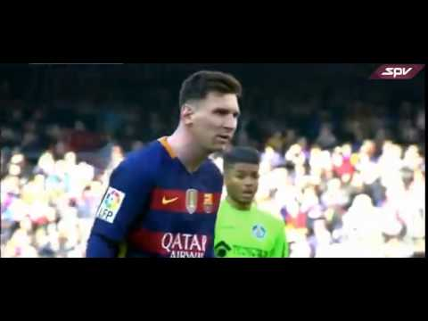 LA LIGA   Messi Miss The Penalty Kick   FC Barcelona Vs Getafe 6- 0   12-03-2016 HD