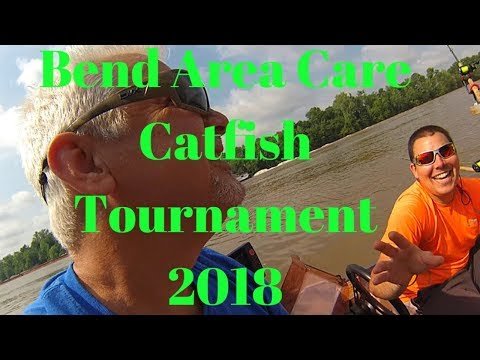 Catfishing On The Ohio River, Bend Area Care Tournament 2018!