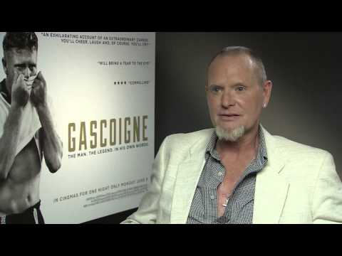 Paul Gascoigne on his new documentary, life after football & Raheem Sterling