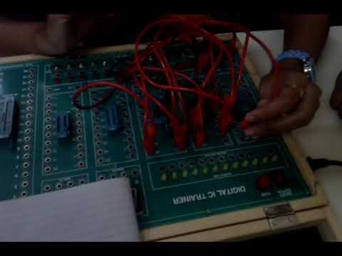 MOD 9 counter using IC 7493