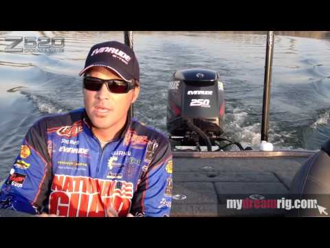 Scott Martin on Ranger Bass Boats powered by Evinrude