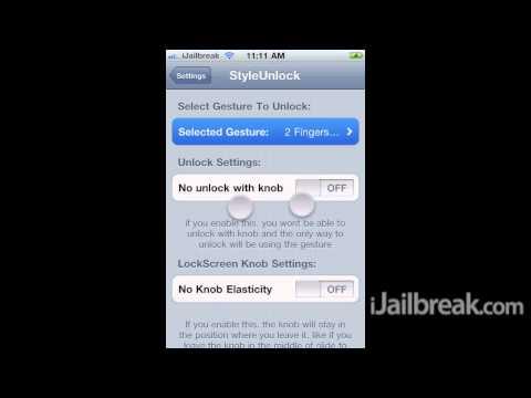 StyleUnlock Cydia Tweak: Unlock Your iPhone, iPod Touch, iPad Using Gestures