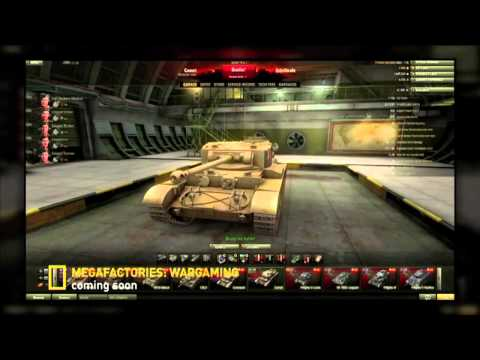 National Geographic Channel's Megafactories: Wargaming