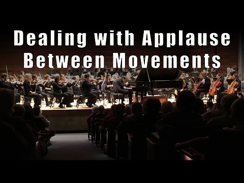 How to Deal with Applause Between Movements