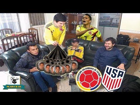 Estados Unidos vs Colombia (2-4) | Amistoso Internacional FIFA | Reacción Amigos | Club de la Ironía