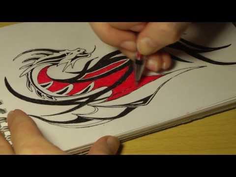 Что можно нарисовать гелевыми ручками фото