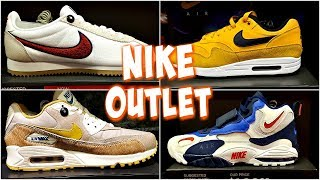 NIKE OUTLET SHOE'S COME WITH ME MARCH 2019