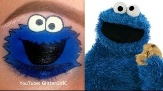 The Cookie Monster Makeup Tutorial - YouTube