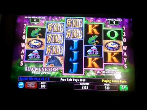 Unicorn Magic Slot Bonus - IGT