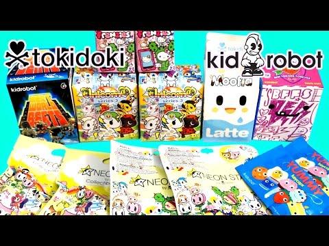 Surprise Blind Bag Toys – Tokidoki & Kidrobot – BFFs Moofia Unicorno Frenzies Hello Kitty Neon Star!