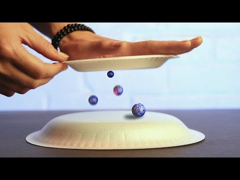 9 Cool Science Tricks Using Static Electricity