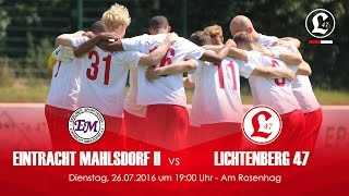 video 'Oberligateam: Vorbereitungsspiel gegen BSV Eintracht Mahlsdorf II' anschauen