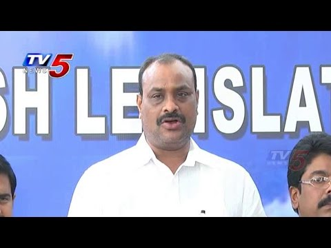 Ridiculous To Speak YCP On Law & Order | TDP Leaders Fire On YCP  : TV5 News