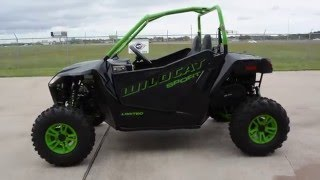 3. $15,999:  2016 Arctic Cat Wildcat Sport Limited Overview and Review