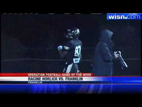 Week 9 Highlights: Franklin Rolls By Horlick, 49-7