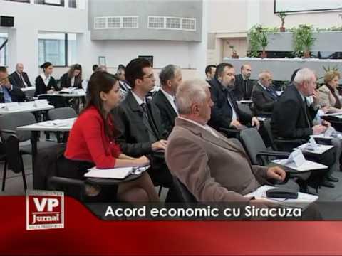 Acord economic cu Siracuza