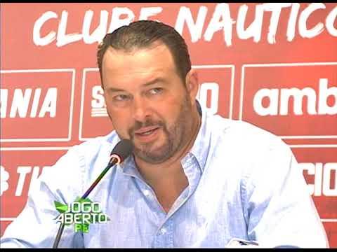[JOGO ABERTO PE] Roberto Fernandes afirma que o Náutico é forte candidato para subir para Série B