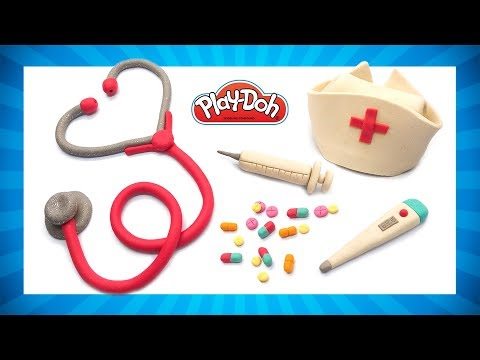 How to Make Doctor Kit Toys. Play Doh Doctor Set. DIY Tutorial for Kids. Doctor Kit for Pretend Play