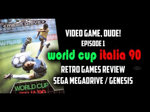 world cup italia 90 megadrive play online