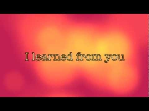 Whitney Houston - I Learned From The Best wlyrics