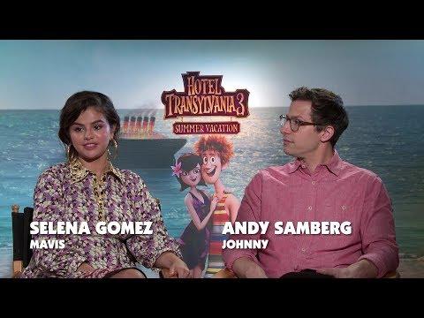 HOTEL TRANSYLVANIA 3: SUMMER VACATION Interviews