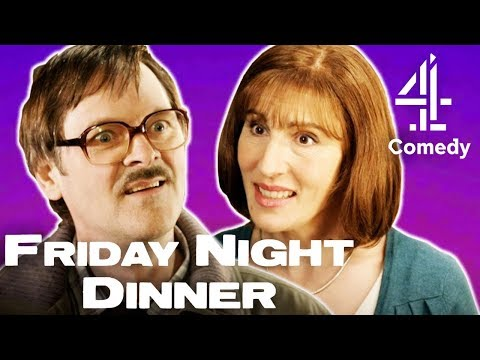 Jim & Jackie's Funniest Scenes Together! | Friday Night Dinner