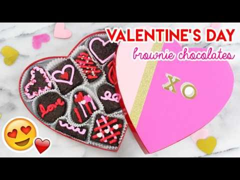 How to Make a Valentine's Day Brownie Box!