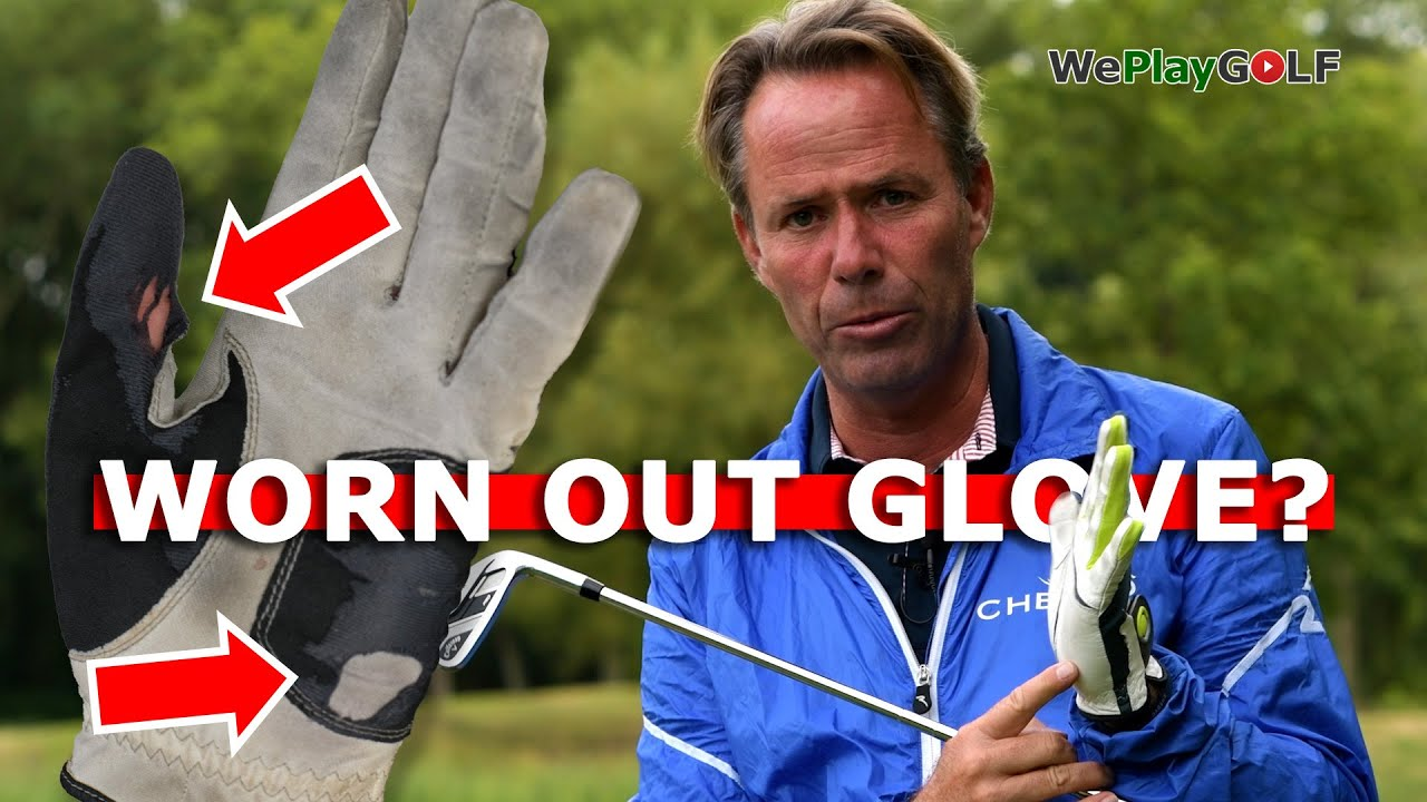 Your worn out golf glove tells you what you are doing wrong in you golf swing