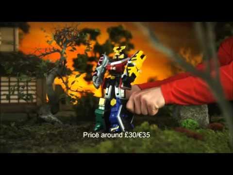 Power Rangers Samurai Action Vehicles and Zords