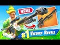 *NEW* HEAVY SNIPER RIFLE Gameplay In Fortnite Battle Royale