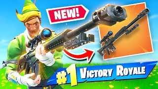 Download Video *NEW* HEAVY SNIPER RIFLE Gameplay In Fortnite Battle Royale MP3 3GP MP4