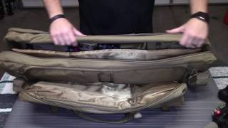 We give you a look at the VISM 36 inch double rifle case.