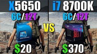 Intel Xeon X5650 vs i7 8700K