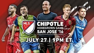 LIVE: Chipotle Homegrown | MLS All-Star 2016 presented by AT&T by Major League Soccer
