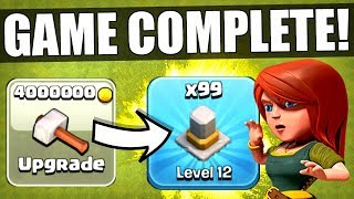 Video I HAVE OFFICIALLY COMPLETED CLASH OF CLANS! ✅ MAX LEVEL TOWN HALL 11! MP3, 3GP, MP4, WEBM, AVI, FLV November 2017