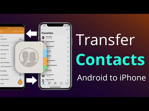How to Transfer Contacts from Android Phone to iPhone Easily