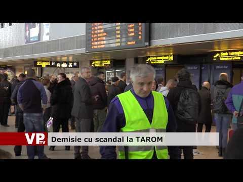 Demisie cu scandal la Tarom