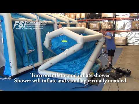 Small Shower Setup/Teardown Instructions